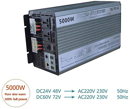 GQLB Coche convertidor 5000W de Onda sinusoidal Pura 24V / 48V ...
