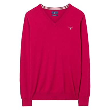 save up to 60% attractive style limited style Gant Men's Jumper Red Bright Magenta Mel: Amazon.co.uk: Clothing