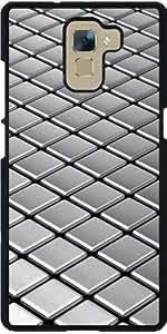 Funda para Huawei Honor 7 - Tejas Metálicas Abstractas by Carsten Reisinger