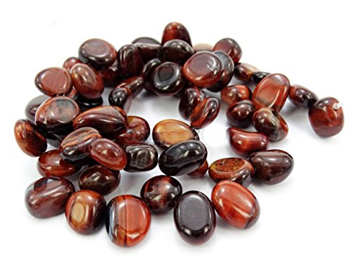 AAA Natural Red Tiger Eye Gemstones Smooth Teardrop Loose Beads Free-form ~18x10mm beads ( ~16