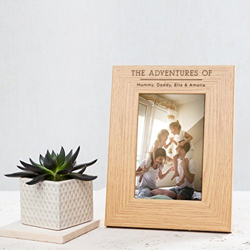Veneer Custom Picture Frame (Custom Engraved Personalised Wooden Photo Frame / Picture Frame Family / Best Friends Picture Frame / Mr&Mrs Frame / Adventure Picture Frame / Custom Engraved Picture Frame - Gifts For ANY Occasion)