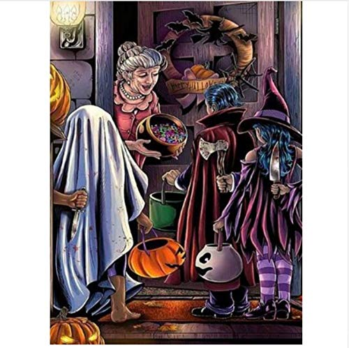 Jigsaw Puzzle 1000 Piece Child Halloween Classic Puzzle DIY Kit Wooden Toy Unique Gift Home Decor -