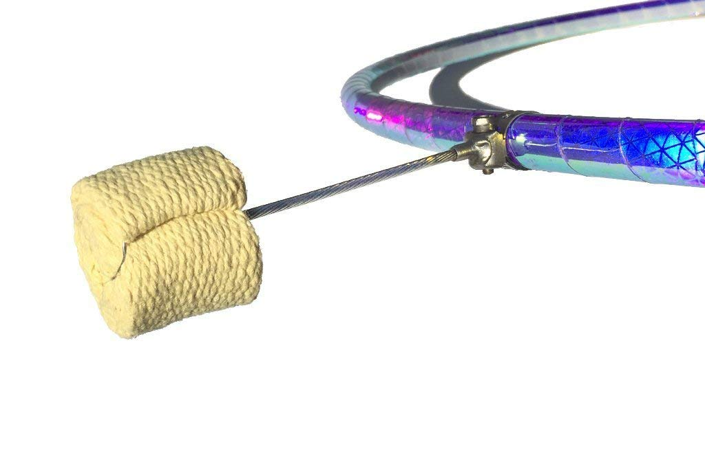 The Quick Wick Turns Any Hoop into a firehoop, The Original fire Wick for Hula Hoops