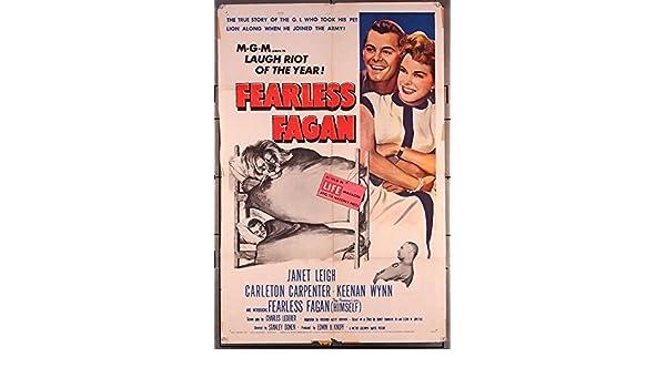 Fearless Fagan 1952 Original Mgm One Sheet Movie Poster