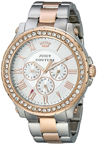 Juicy Couture Women's 1901255 Pedigree Analog Display Quartz Two Tone Watch ()