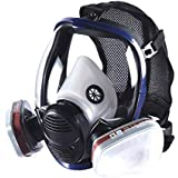 Best Sale Holulo Organic Vapor Full Face Respirator With Visor Protection For Paint Chemicals Polish Pesticides Protection