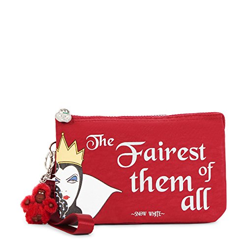 Kipling Disney Snow White Collection Solid Creativity Xl Wristlet, Candied Red