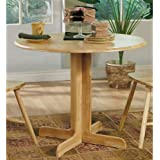 Coaster Home Furnishings Casual Dining Table, Natural