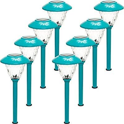 Energizer 8-Piece Color Holding Solar Path Light Set
