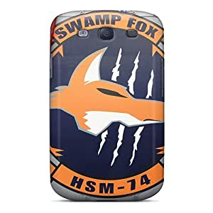 AshtonWells Samsung Galaxy S3 Perfect Hard Phone Covers Allow Personal Design Lifelike Swamp Fox Pictures [Jkf26033UIZG]