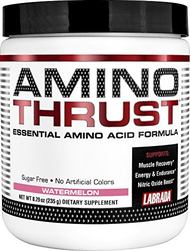 Labrada Nutrition Amino Acid Thrust Essential Formula, Watermelon, 235 Gram
