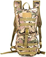ANTARCTICA Tactical Hydration Pack Backpack, Outdoor Sports Lightweight Military MOLLE Daypack for Biking Marathon...