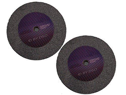 2 Pack Trade Quality 6 inch Fine Grinding Wheel PW020F Toolzone
