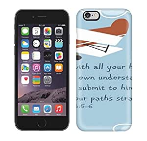 New Arrival Cover Case With Nice Design For iphone 5c- Airplane,Trust In The Lord Scripture