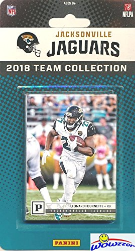 Jacksonville Jaguars 2018 Panini NFL Football Factory Sealed Limited Edition 15 Card Complete Team Set Blake Bortles, Leonard Fournette, Jalen Ramsey, T.J. Yeldon & Many More! WOWZZER!