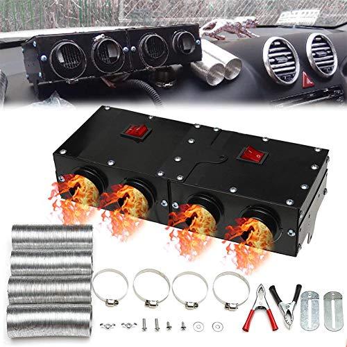 S WIDEN ELECTRIC 12V 800W Car Vehicle Fan Heater, Heating Warmer Windscreen Defroster Demister Fan Car Heater Windshield De-Icers