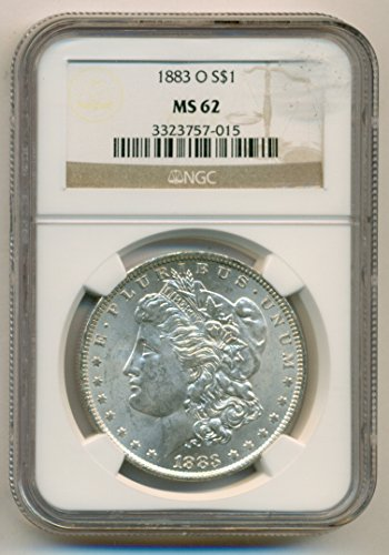 1883 O Morgan Silver Dollar MS62 NGC