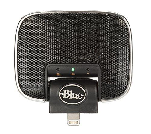 Blue Microphones Mikey Digital Lightning Microphone condensateur avec connecteur Lightning pour Apple Noir
