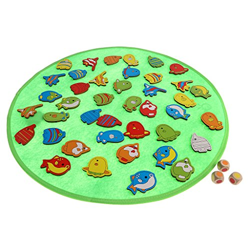 Baoblaze キッズ 記憶ゲーム 知的 魚や海洋動物 メモリダイスボードゲーム おもちゃ 子ども誕生日 贈り物