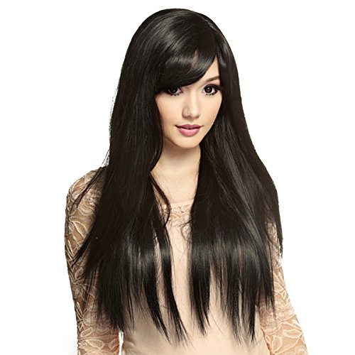 Gothic Lolita Wigs® Bella™ Collection - Black -00427 -