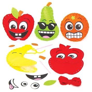 Nahsets Freche Fruchte Fur Kinder Zum Basteln Und Als Deko