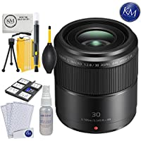Panasonic Macro 30mm f/2.8 Lens + K&M Lens Bundle