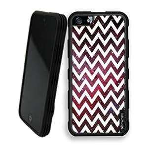 Shawnex Emission Nebula Chevron iPhone 5 Case - Rigid Shell Tough Protective Case iPhone 5 Case by ruishername