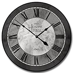 Grand Estate Wall Clock, Available in 8 sizes, Most Sizes Ship 2 - 3 days, Whisper Quiet.