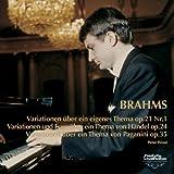 ブラームス:ピアノ独奏曲全集III