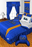 UCLA Bruins 3 Piece TWIN Comforter SET - Includes: (1 Twin Comforter, 1 Pillow Sham & 1 Pillowcase) - SAVE BIG BY BUNDLING!