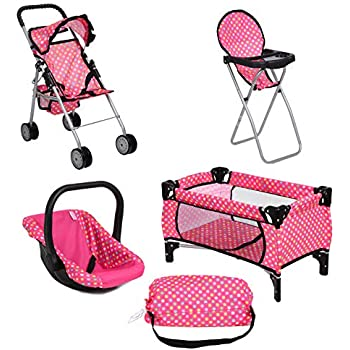Amazon Com Graco Play Set Stroller With Canopy Swing