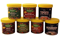Vogue Cuisine Mushroom Soup & Seasoning Base 4oz - Low Sodium & Gluten Free