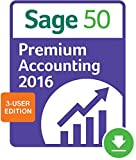 Sage 50 Premium Accounting 2016 3-user [Download]