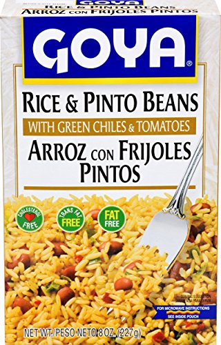 Goya Rice & Pinto Beans, 8-Ounce Units (Pack of 24)