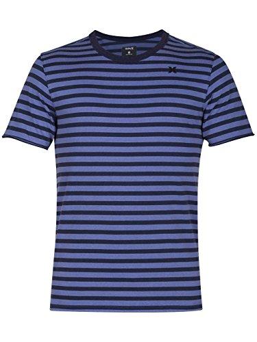 Hurley Surf Trip Crew Short Sleeve T-Shirt in Blue Moon Multicolor