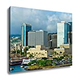 Ashley Canvas, Beautiful View Of Honolulu Hawaii United States, Home Decoration Office, Ready to Hang, 20x25, AG6409531