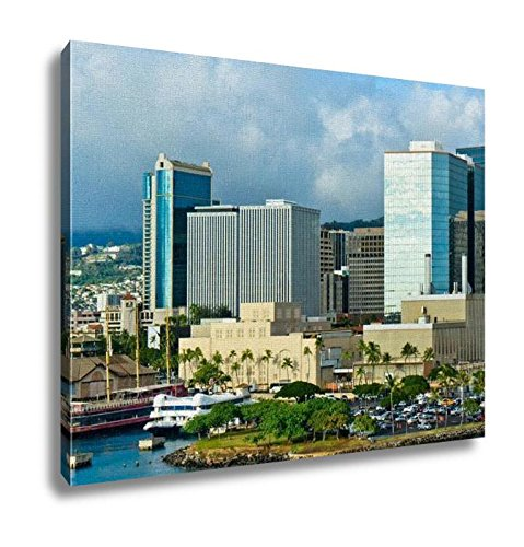 Ashley Canvas, Beautiful View Of Honolulu Hawaii United States, Home Decoration Office, Ready to Hang, 20x25, AG6409531 by Ashley Canvas