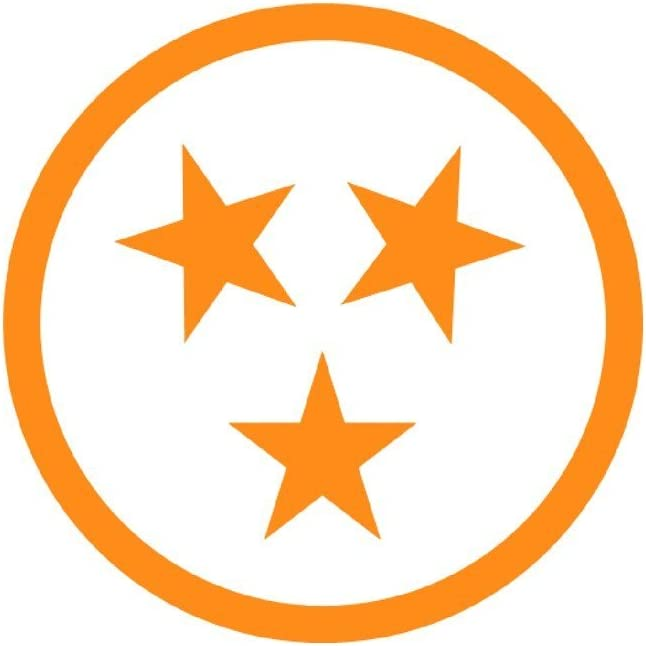 HOME Tri Star Tennessee Volunteers 4inch decal
