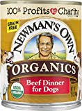 Newman'S Own Organics Beef Dinner For Dogs, 12-Oz (Pack Of 12)
