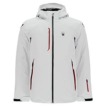 Spyder LEGEND Vanqysh Men s Ski Jacket white  Amazon.co.uk  Sports ... e49ea43165a1