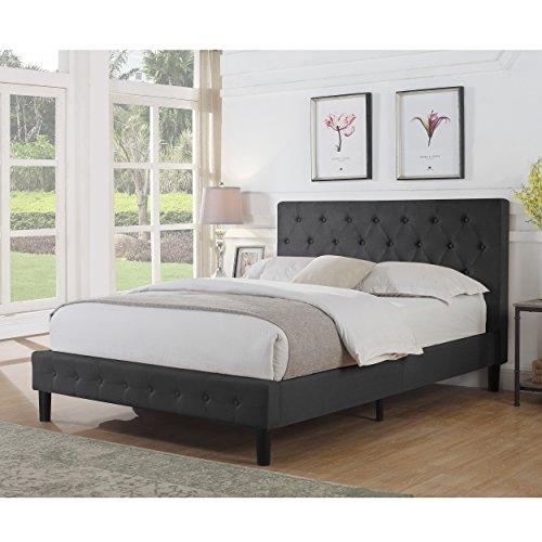 Rosevera Alfonso Tufted Upholstered Panel/Platform Bed