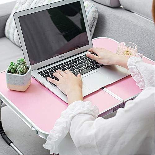 Ordinateur portable pliable Bureau d\'ordinateur portable Bureau d\'ordinateur portable Ordinateur portable d\'écriture Accueilbleu