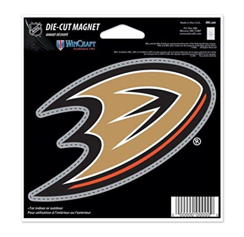 Magnets Nhl (NHL Anaheim Ducks Color 4.5 x 6 Die Cut Magnet)