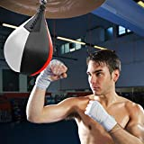 HEYJUDY Leather Speed Bag Adult Boxing Bag Boxing