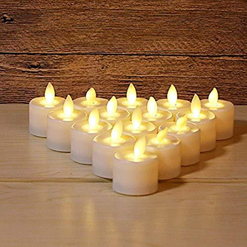 Candles & Tea Lights Home, Furniture & DIY 12/24 Battery Slim Flickering LEDs Pillar Candles Dripping Wax Effect Lights Set