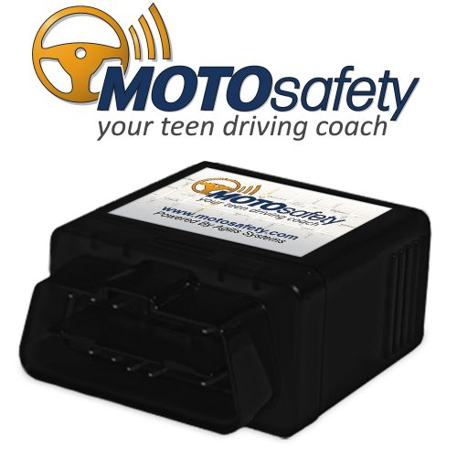 MOTOsafety OBD GPS Tracker Device with 3G GPS Service Locator, Real-Time Teen Driving Coach, GPS...