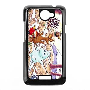 Design Cases HTC One X Cell Phone Case Black Moomin Valley Ssrxh Printed Cover