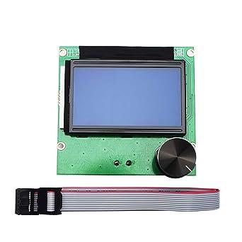 Huhuswwbin Impresora 3D 12864 pantalla LCD de repuesto para ...