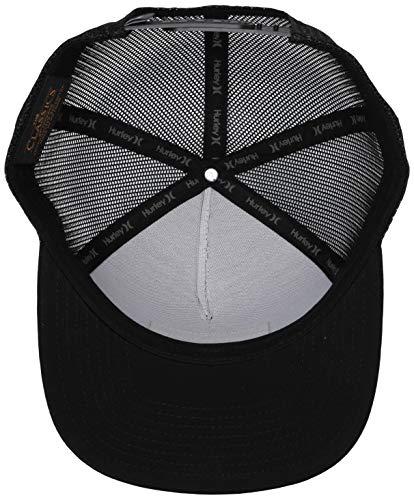 Hurley Men's Destination Flat Bill Trucker Baseball Cap Hat