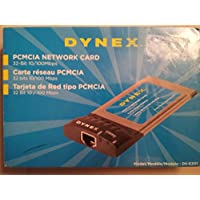 Dynex DX-E201 - Network adapter - CardBus - Ethernet, Fast Ethernet - 10Base-T, 100Base-TX